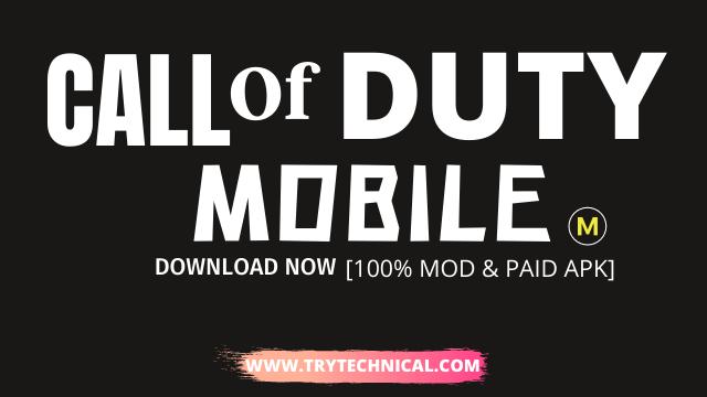 Call Of Duty Mod Apk v1.0.24 – Download Now [100% MOD & PAID APK]