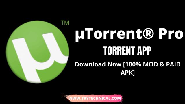 uTorrent Pro Apk v6.6.2 – Download Now [100% MOD & PAID APK]